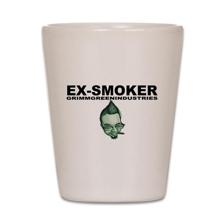 Ex-Smoker Shot Glass