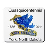 Cute York nd bluebird Mousepad