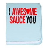 AWESOME SAUCE baby blanket