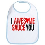 AWESOME SAUCE Bib