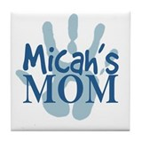 Micah's Mom Tile Coaster