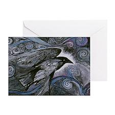 Night Raven Greeting Cards (Pk of 20)