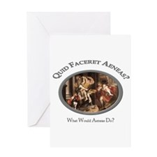 What Would Aeneas Do? Greeting Card