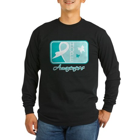 PKD Hope Tile Long Sleeve Dark T-Shirt