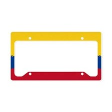 Colombian Flag License Plate Holder