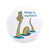 "Nessie 3.5"" Button (100 pack)"