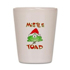 Mistle Toad Shot Glass