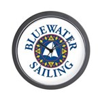"BWS ""Time to Sail!"" Wall Clock"