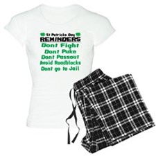 St. Patricks Day Reminders Pajamas
