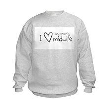 Birth midwifery Sweatshirt