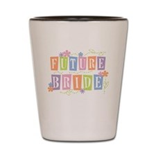 Color Blocks Future Bride Shot Glass