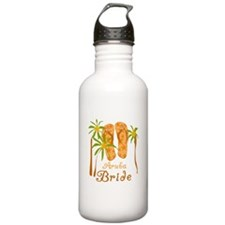 Tropical Aruba Bride Water Bottle