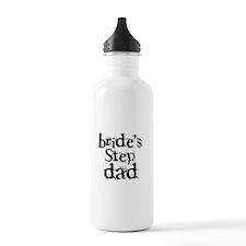 Bride's Step Dad Water Bottle