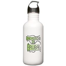 Green Honeymoon Aruba Water Bottle