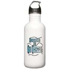 Blue Honeymoon St. Thomas Water Bottle
