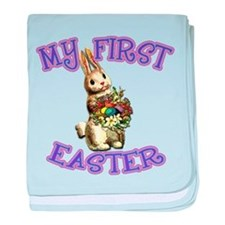 Easter Bunny My 1st Easter baby blanket