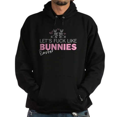 Let's fuck like bunnies (East Hoodie (dark)