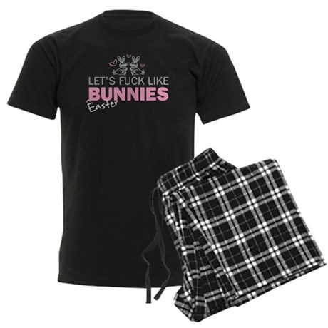 Let's fuck like bunnies (East Men's Dark Pajamas