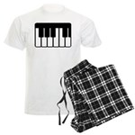 Keyboard Piano Music Mens Pajamas