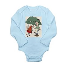 Barbque Explosion Long Sleeve Infant Bodysuit