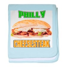 Philly CheeseSteak baby blanket