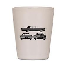 Chevy Caprice Shot Glass