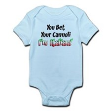 Bet Your Cannoli Kids Infant Bodysuit