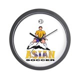 Asian2 Wall Clock
