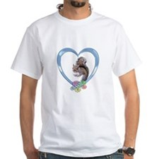 Squirrel in Heart Shirt