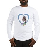 Squirrel in Heart Long Sleeve T-Shirt
