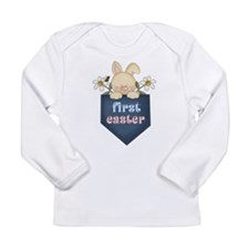 Babys 1st Easter Bunny Long Sleeve Infant T-Shirt