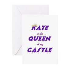 Castle: Kate is Queen Greeting Cards (Pk of 20)