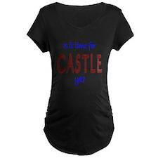Time For Castle Maternity Dark T-Shirt