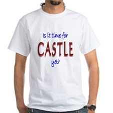 Time For Castle White T-Shirt
