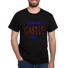 Time For Castle Dark T-Shirt