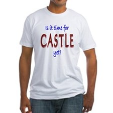 Time For Castle Fitted T-Shirt
