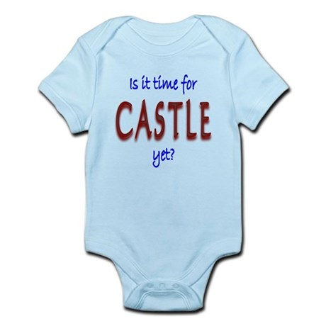 Time for Castle Infant Bodysuit