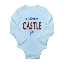 Time For Castle Long Sleeve Infant Bodysuit