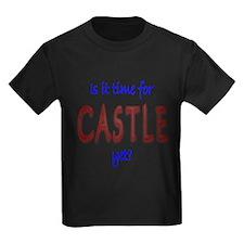 Time For Castle Kids Dark T-Shirt