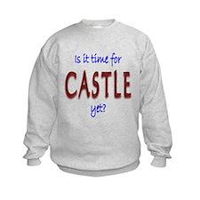 Time For Castle Kids Sweatshirt