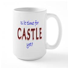 Time For Castle Large Mug