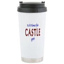 Time For Castle Stainless Steel Travel Mug