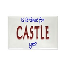 Time For Castle Rectangle Magnet (100 pack)