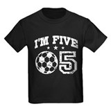 Five Year Old Soccer T