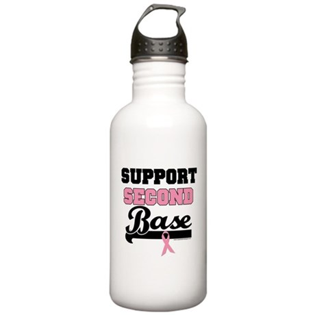 Support 2nd Base (v1) Stainless Water Bottle 1.0L