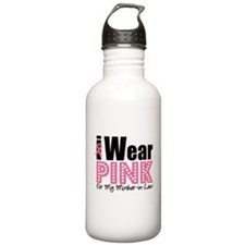 I Wear Pink MIL Water Bottle
