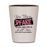 Fake - Breast Cancer Shot Glass