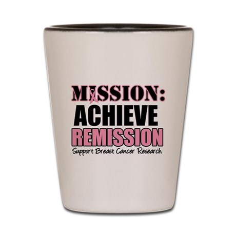 Mission Remission BC Shot Glass