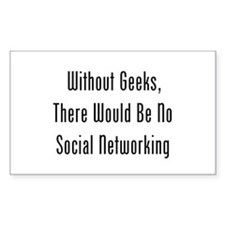 Without Geeks, No Networking Decal