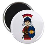 Cute Little Roman Soldier Magnet
